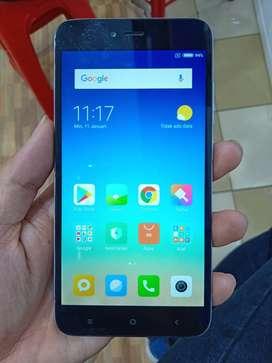 Xiaomi Note 5a 2/16 Bekas Normal Bawaan Hp dan Casan