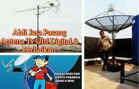 Terima Perbaikan Pemasangan Sinyal Antena Tv Analog Digital.