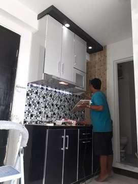 AhLiNya spesiaL kitchen set,FuRniTur Mewah TeRLaris