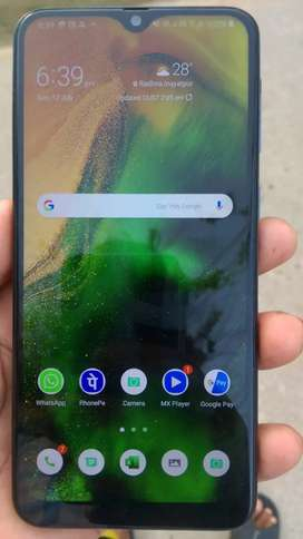 Samsung M30 briand new 6gb 128 gb friend mast phone hi bilkull bhi