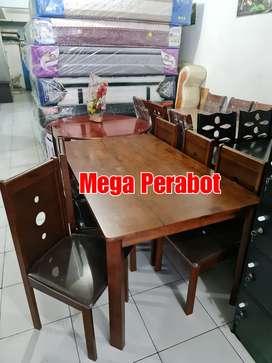 Meja Makan 6 orang