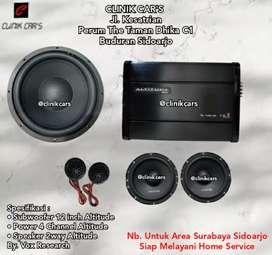 • Paket Audio 2way Super rekomende
