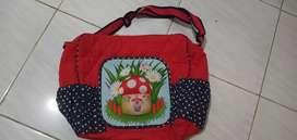 Tas bayi besar warna merah