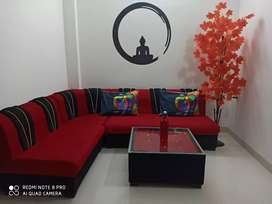 Brand new sofa set with centar table