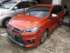Yaris Trd Sportivo Thn 2015 AT/Matic Orange Kredit Murah