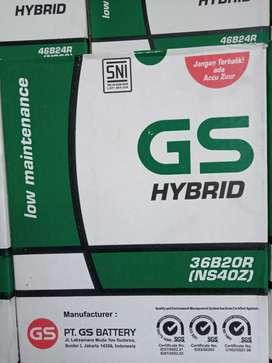 accu mobil GS astra hybrid Ns40z 35ah