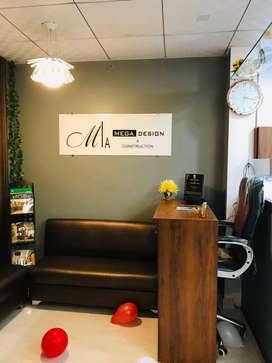 A Beautiful Modern Design Architect/Interior Designer Office for Rent