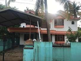 Double storied villa in Palackal