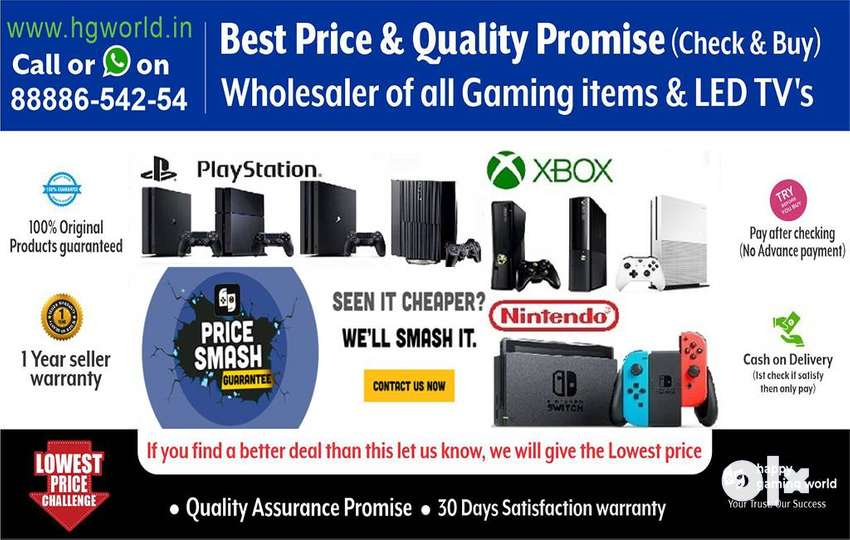 Wholesaler PS4, PS3,PS2,XBOX1/X/S/360,Nintendo,Gaming Titles & LED TVs 0