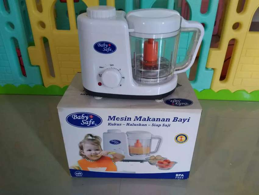 Dijual murah Baby safe food maker (mesin makanan bayi) 0