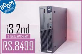 BRANDED LENOVO i3 2nd Gen CPU - 3 YEARS WARRANTY - FREE DELIVERY