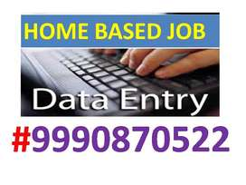 Genuine Part time ONLINE/OFFLINE Home based Data entry job