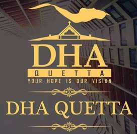 DHA Quetta 1 kanal open affidavit file available ready to transfer