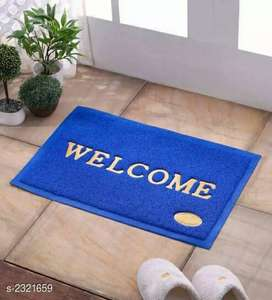 Splendor decorated pvc welcome mats