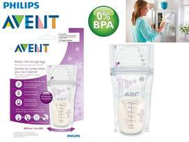 Philips AVENT Breast Milk Storage Bags 6 Ounce 25 Count Tommee Medela