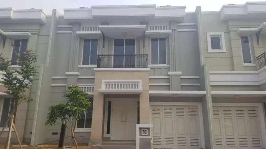 Rumah 2 lantai keren nyaman Maxwell summarecon Serpong Tangerang 0
