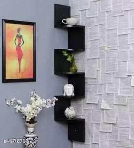 Beautiful home wall corner shelf