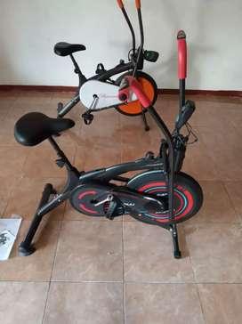 Sepeda olahraga fitnes New Platinum bike
