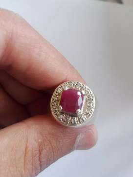 pure yaqoot stone in chandy ring