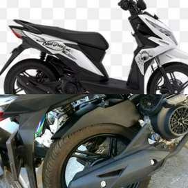 Spakbor Kolong Honda Beat Street/Hugger Beat Street