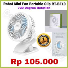 ORI 100% Mini Fan Portable Clip RT-BF10 MERK Robot