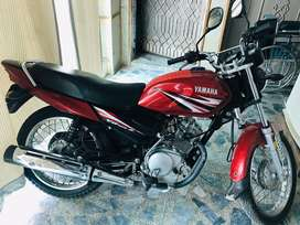 Yamaha YB 125 Z neat and clean