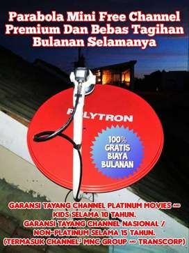 PARABOLA MINI FREE CHANNEL PLATINUM KAB. LAHAT (SUMSEL)