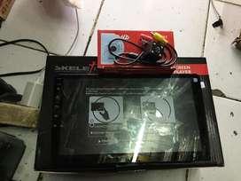 Paket TV Mobil 10inch Android SKELETON + Kamera Mundur Free Masang