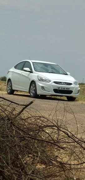 Hyundai Fluidic Verna 2011 Diesel 100500 Km Driven