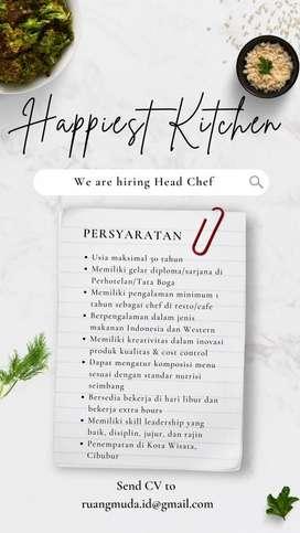 Head Chef Restoran