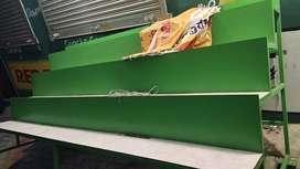Super market fruits racks