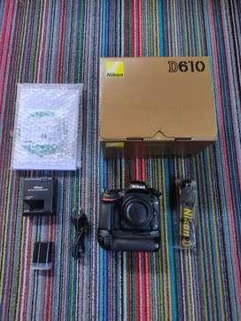 Nikon d610 baterai grib box