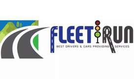Fleet Runs driver and driver with  car providing services