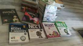 Physics chemistry biology books for 11th 12 th medical available