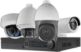 Security Bazaar Brand New Cp plus Hikvison cctv 2,4,8, channel set up