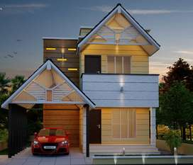 ULTRA LUXURY 3BHK VILLA FOR SALE IN OTTAPALAM TOWN