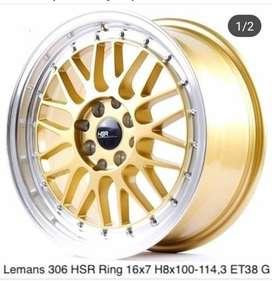 Jual Velg Type LEMAN Hsr Wheel Ring 16 Bisa Credit
