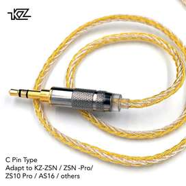 Knowledge Zenith Gold Silver Mixed Cable Type C