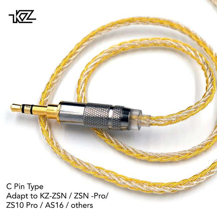 Knowledge Zenith Gold Silver Mixed Cable Type C 0