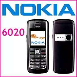 Nokia 6020 rare color camera mobile 1200rs