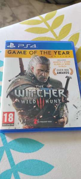 Witcher 3 PS4 game *mint condition*