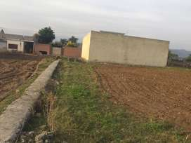 One kanal plot on simly dam road jandala road