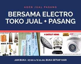 Terima pemasangan signal antena tv digital