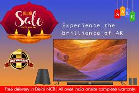 """Brand New 50"""" Smart UHD Android Led TV With 1 Year Warranty All India"""