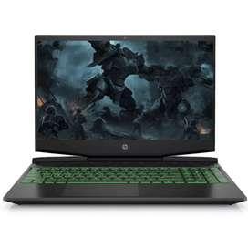 HP Pavilion Gaming 15-dk0042TX Acid Green Bisa kredit