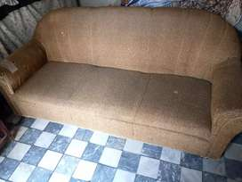 Sofa set ( 3 piece 1 large and 2 small sofa)