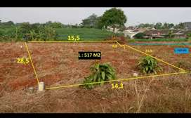 Dijual Tanah Kosong Sasak Panjang Citayam Murah