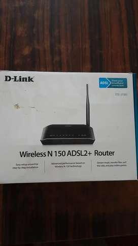 D Link wireless router,modem