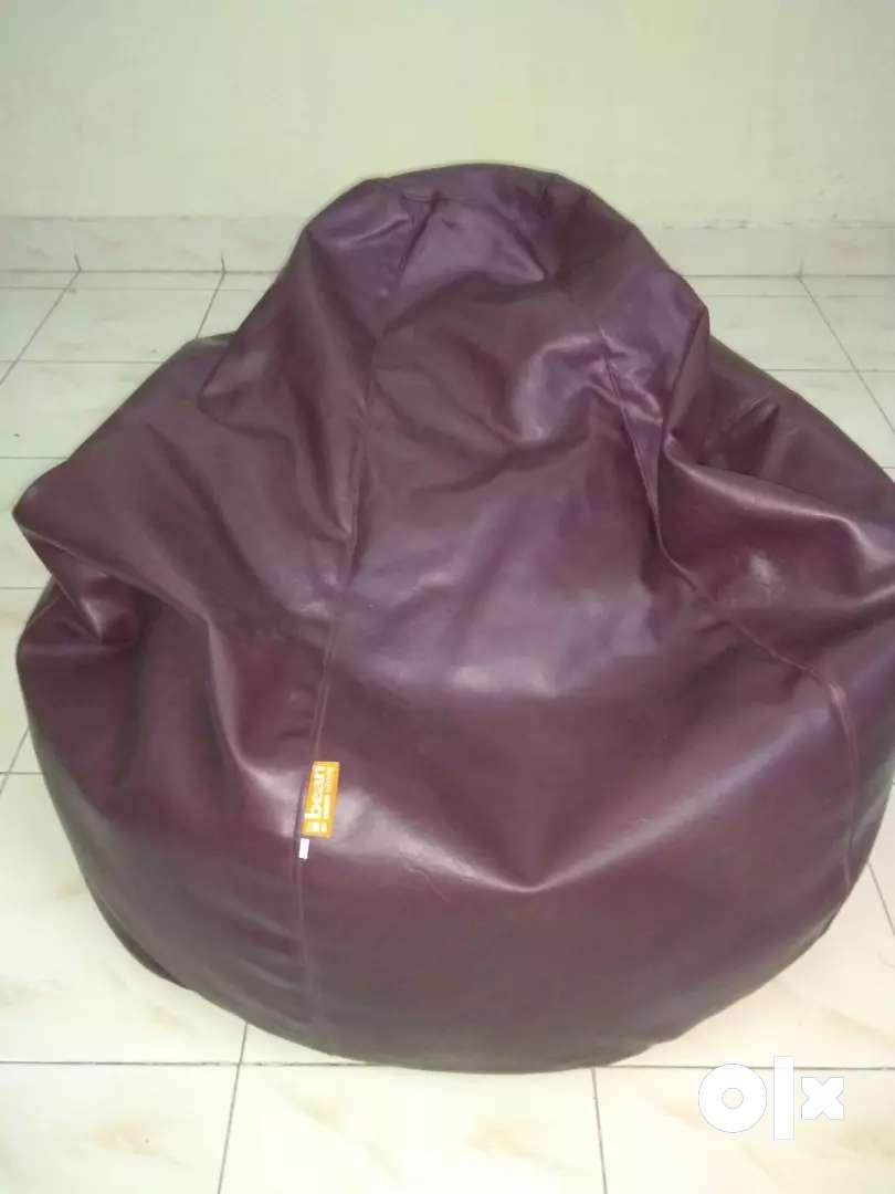 Chocolate colored Bean Bag 0