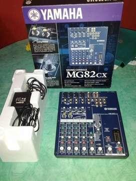 Mixer TERBAIK Yamaha MG82cx audio 8 Channel Reverb
